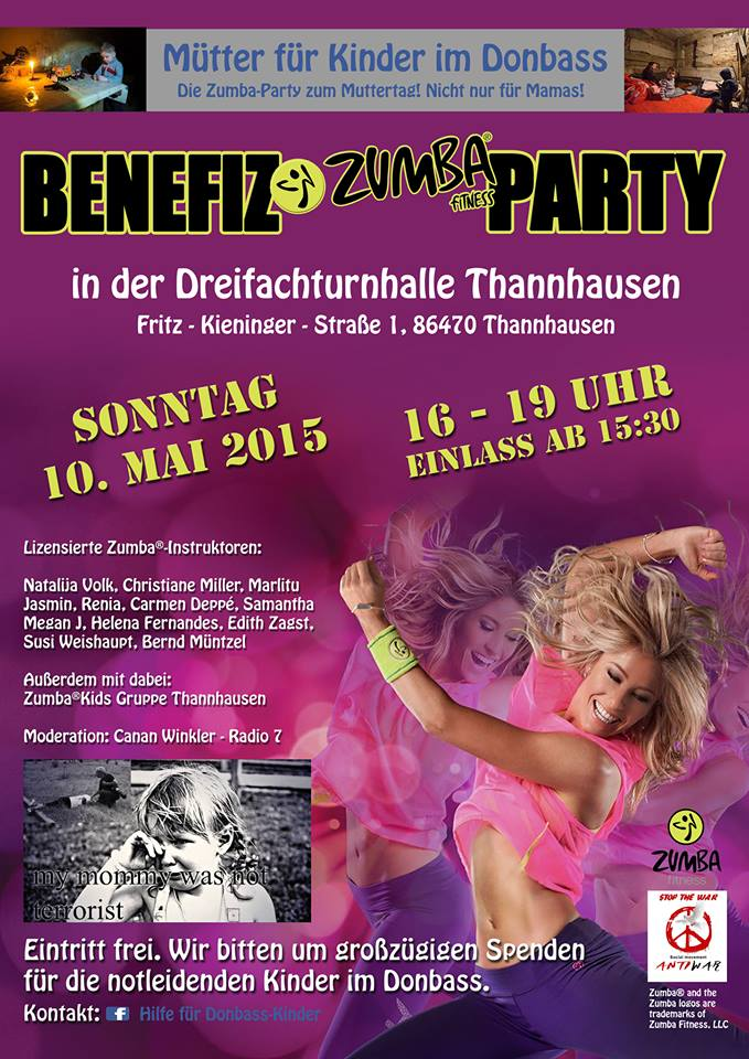 Donbass-Zumba-Party-Plakat